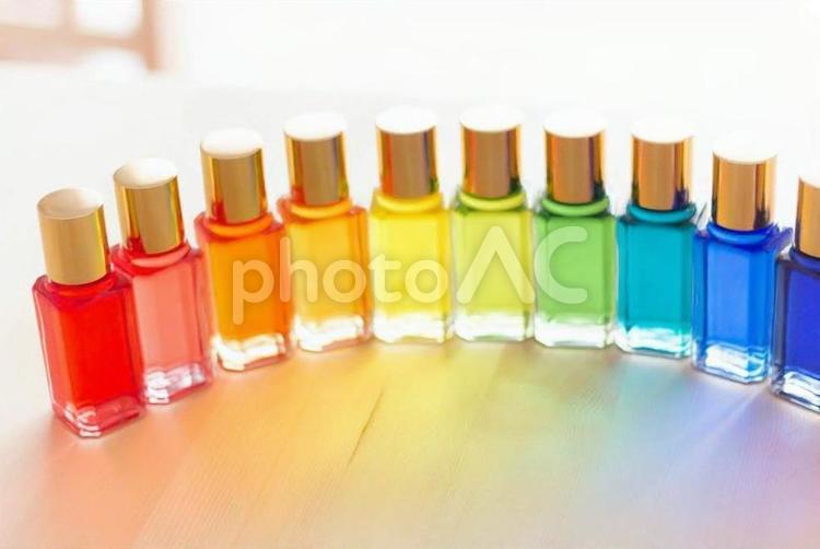 カラーセラピーの写真