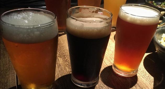 Craft beer drink comparison