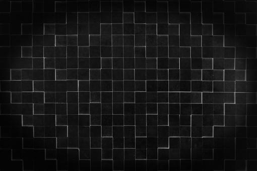 Black cube background
