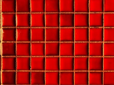 Weathered red tile