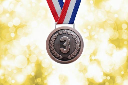 Bronze medal 3rd place ranking material