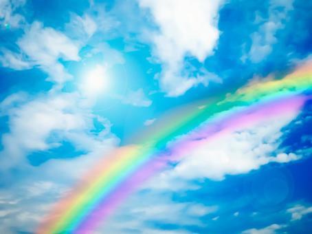 Rainbow Sky - gradation -