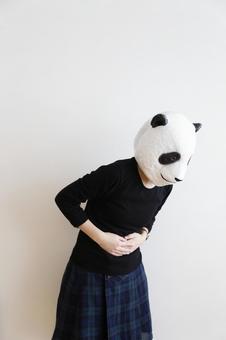 Panda sick.