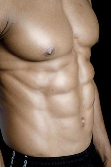Athlete's abdominal muscle 3