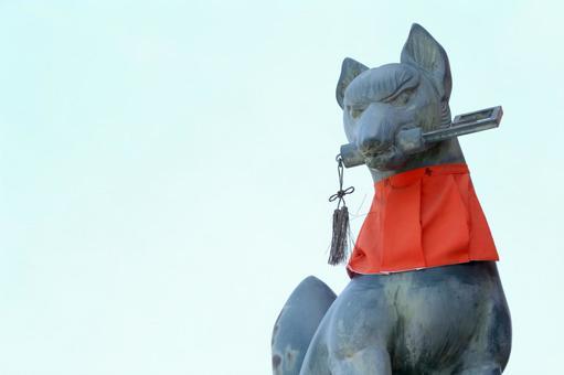 伏见Inari Taisha狐狸