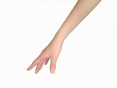 Hand (white background / cutout PSD)