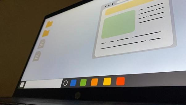 Laptop desktop screen