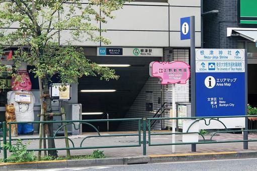 도쿄 메트로 네즈 역