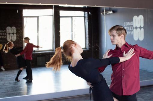 Dancing in a duet 18