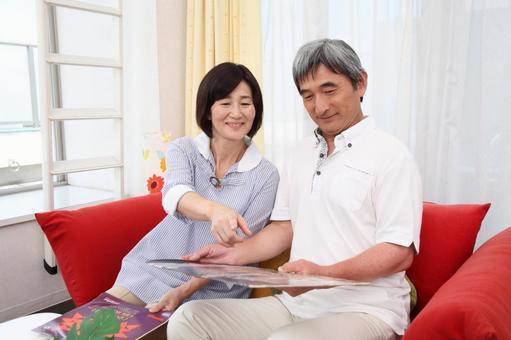 查看唱片封套老年夫婦5