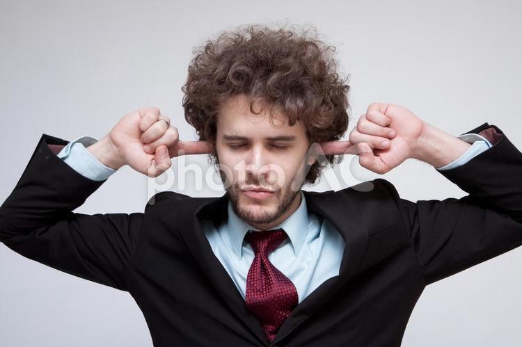 ハンサムな外国人ビジネスマン297の写真
