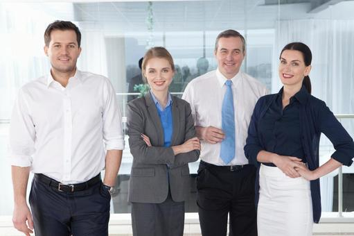 Business team group photo 8