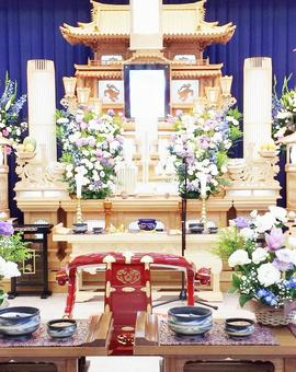 Funeral altar 100
