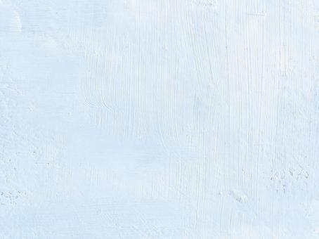 布面油彩淡藍色【藍色背景素材簡約底座冬季手寫圖案亮色】