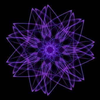 Circle Shape Art 077 Purple