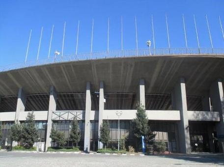 National stadium in Sendagaya · taken in December 2014