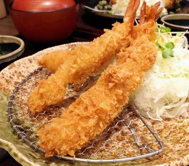 Fried shrimp. 02