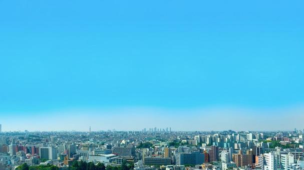 Scenery of urban buildings