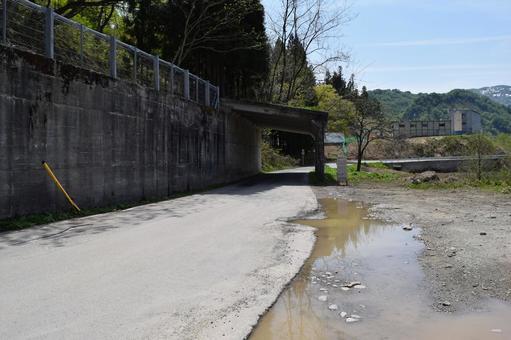 Mountain road Shonai, Yamagata Prefecture