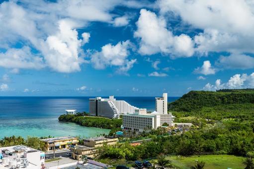 Hotels along Tumon Bay, Guam Tamuning District