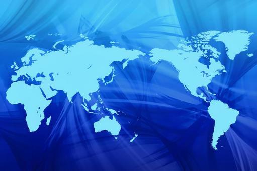 World map 11 Ocean