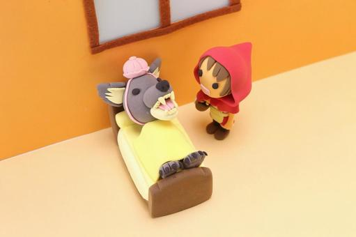 Little Red Riding Hood and the Wolf 9