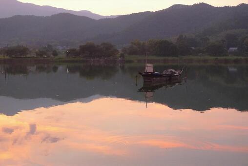 廣澤的黃昏池塘1
