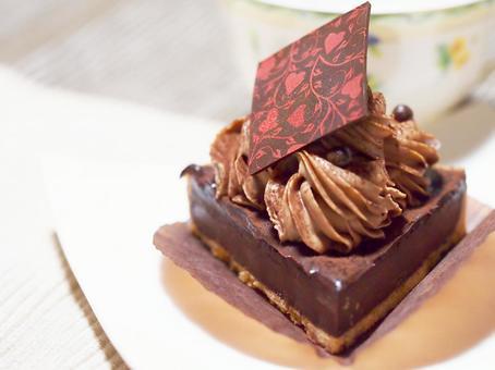 초콜릿 타르트. 01