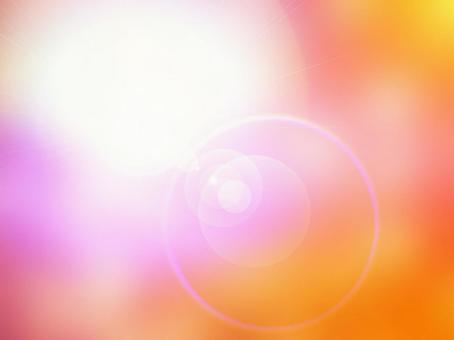 빛의 질감 오렌지와 핑크