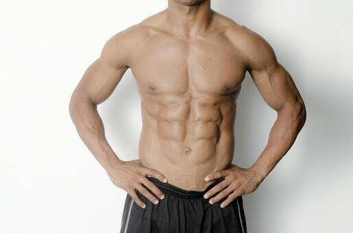 Athlete's abdominal muscle 18