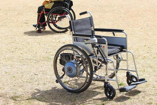 Easy electric wheelchair