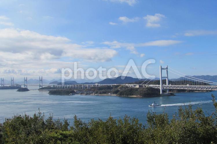 瀬戸大橋 櫃石島の写真