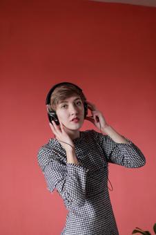 Foreigner model 4 enjoying music 4