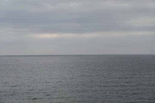 싸리 봄의 해안