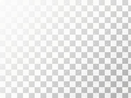Gorgeous silver checkered pattern