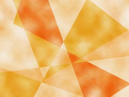 Glass texture figure cut Yellow