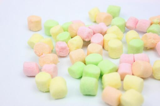 Colorful marshmallow 1