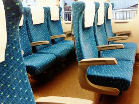 Shinkansen seat 02