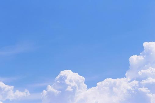Refreshing blue sky