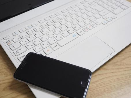 PC and iPhone 1