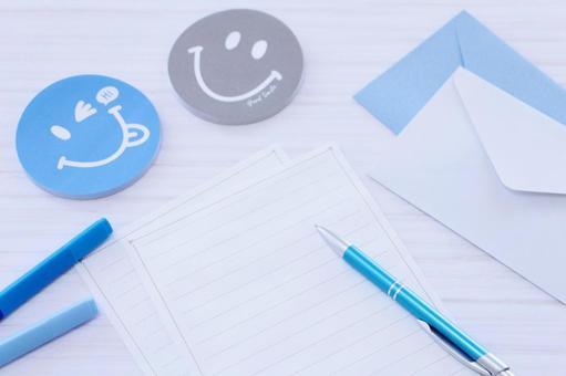 Sticky notes and stationery