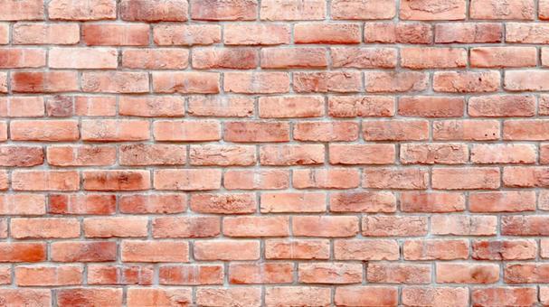 Red brick wall wallpaper texture 16: 9