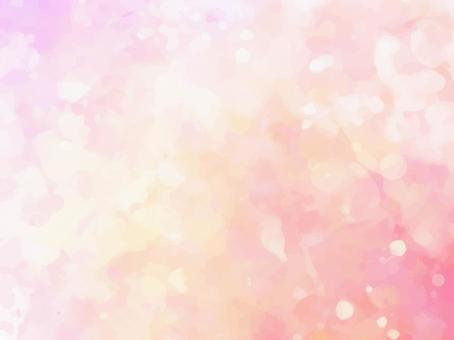 粉紅色和橙色水彩紋理背景