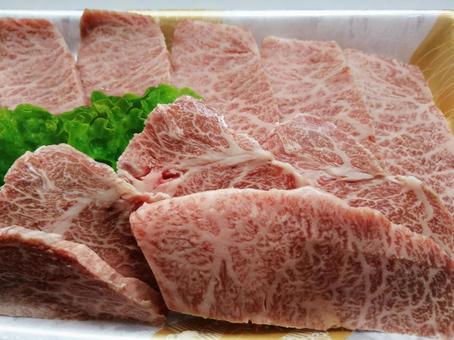 Blade steak for Japanese beef yakiniku 5