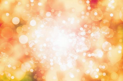 Image of autumn sunbeams | Glitter background material