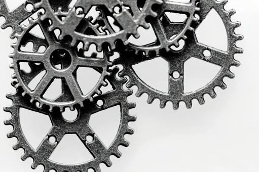 齒輪嚙合 旋轉齒輪 圖片素材
