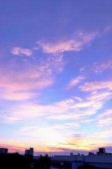 Sky blue sky evening sky sunset sky background