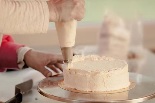 Cake making 1