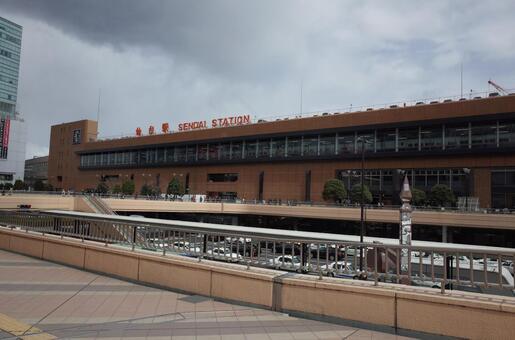 Sendai station building