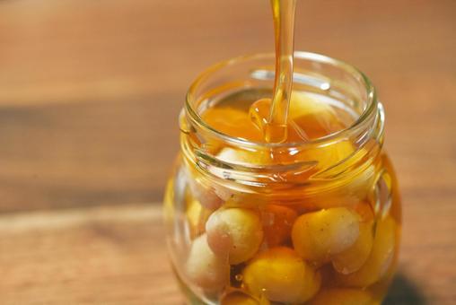 Honey nuts macadamia nuts
